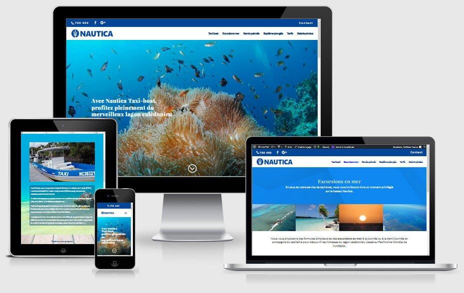 Site web Nautica 1